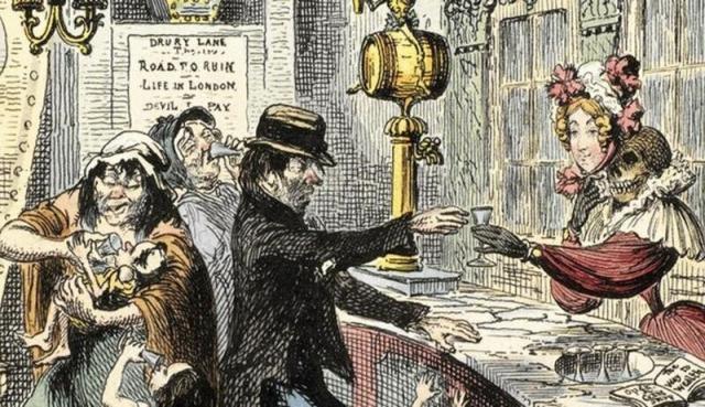 История о том, как Лондон чуть не погубило дешевое пойло