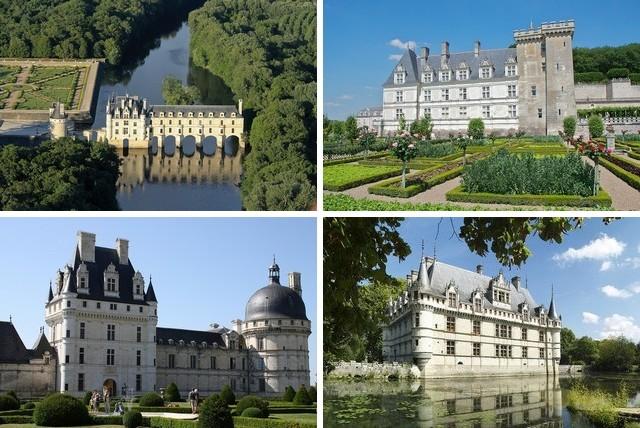 Великолепные замки Луары