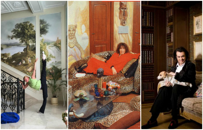 Дорого-богато: 5 домов русских знаменитостей, которые поражают роскошью