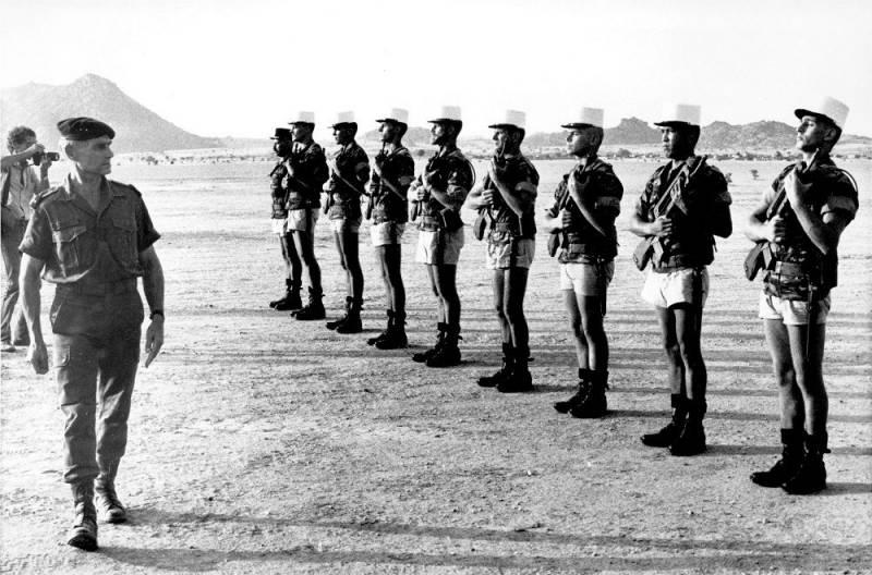 Боевые операции Иностранного легиона во второй половине XX века