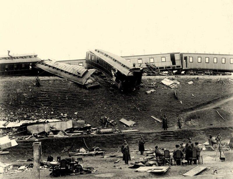 Крушение царского поезда на станции Борки, 17 октября 1888 года 19 век, жизнь до революции, редкие фотографии, снимки, фотографии, царская россия