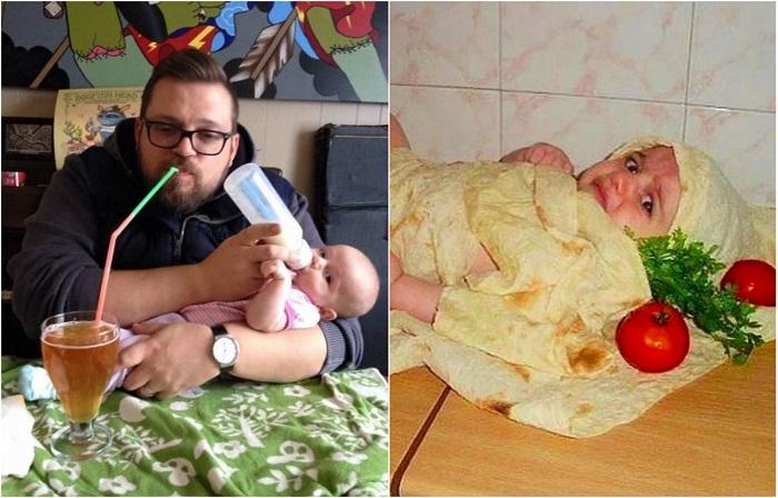 Веселее не придумаешь: Как проводят время дети, которых мамы оставили с папами