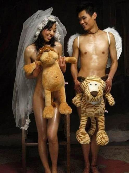 China nude picture wedding