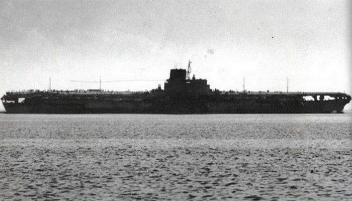 Авианосец «Shinano».