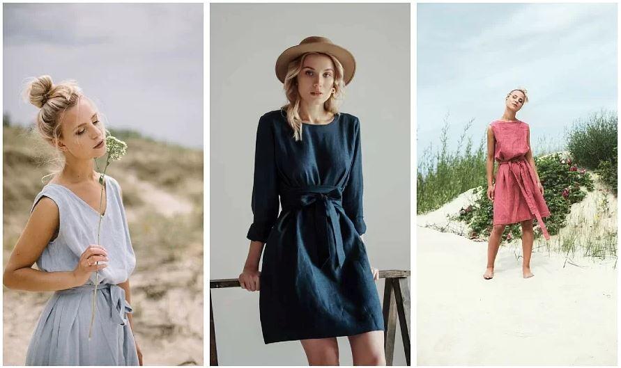 Будет жарко: выбираем летнее льняное платье
