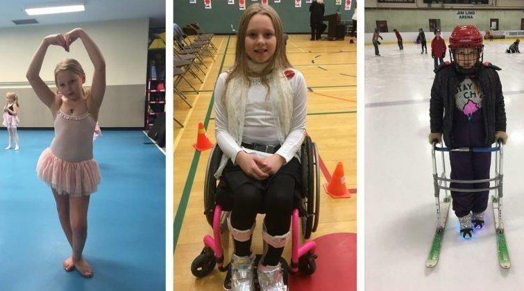 Вопреки приговору врачей парализованная девочка научилась танцевать