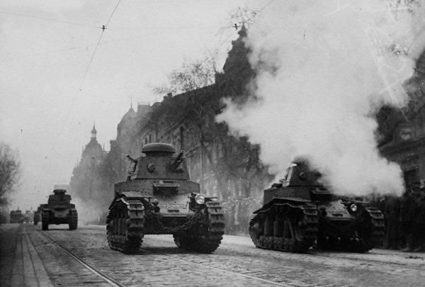 Легкий танк МС-1: наследник …