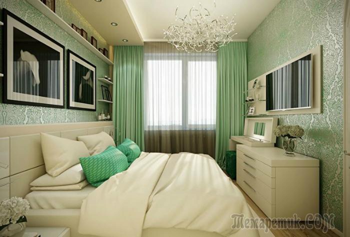 """18 реальных примеров, как расширить границы небольшой спальни в типичной малогабаритной """"панельке"""""""