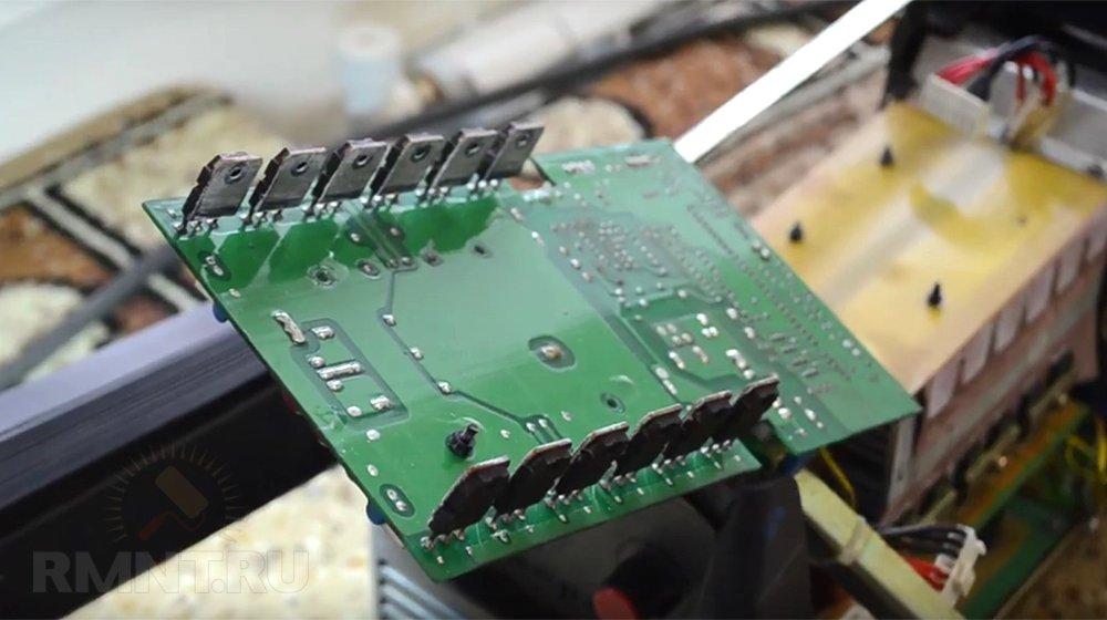 Замена силовых транзисторов в сварочном инверторе