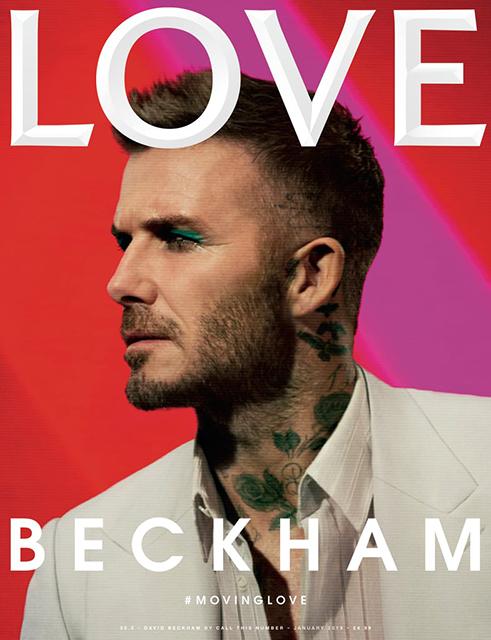 Бьюти-дайджест: от накрашенного Дэвида Бекхэма до коллекции Lush ко Дню святого Валентина новости красоты