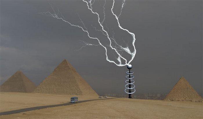 6. Управление погодой изобретение, никола тесла, технологии будущего, электричество