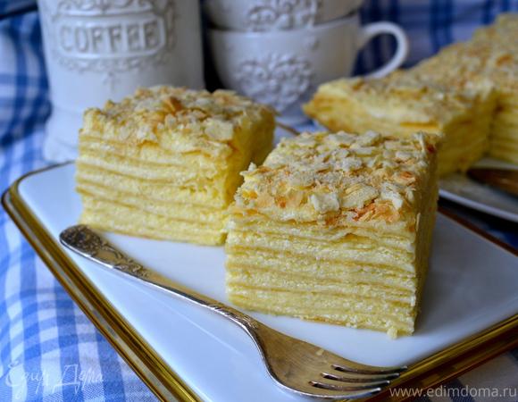 торт наполеон с фото