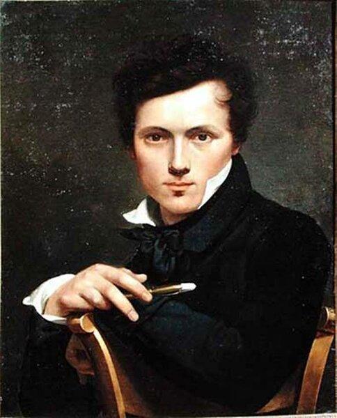 Автопортрет ,1818, холст , масло