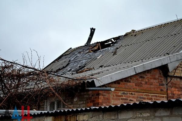 Украинские каратели обстреляли поселки Горловки