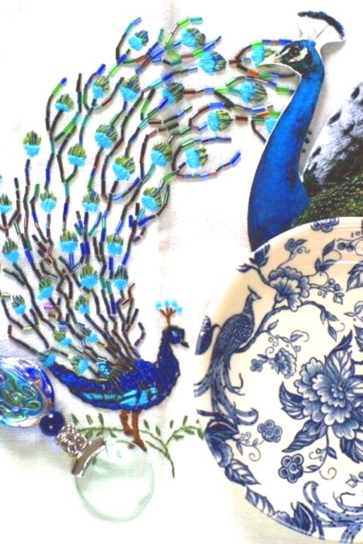 В копилку идей для вышивальщиц — красивые образцы вышивки с птицами