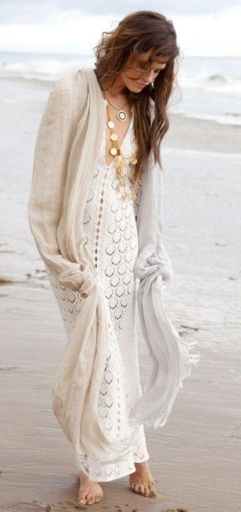 Lovely beach style: