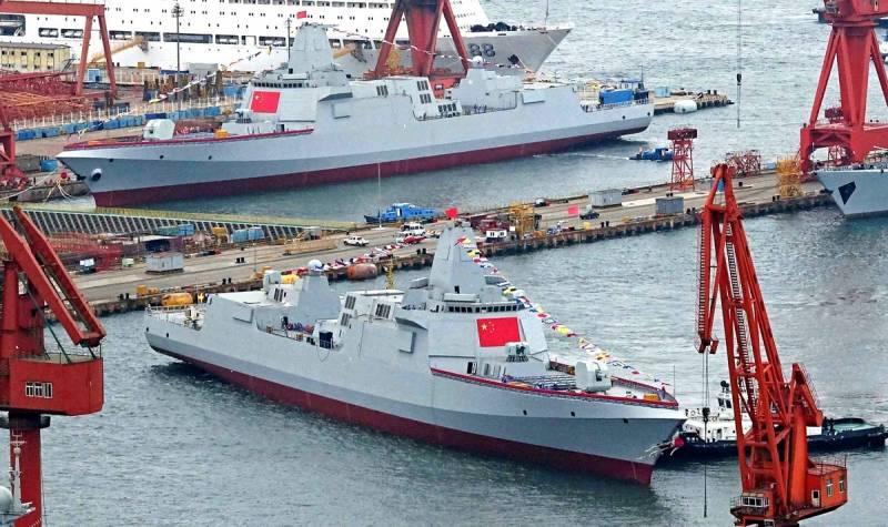 Почему Китай не строит боевые корабли для российского ВМФ Техно