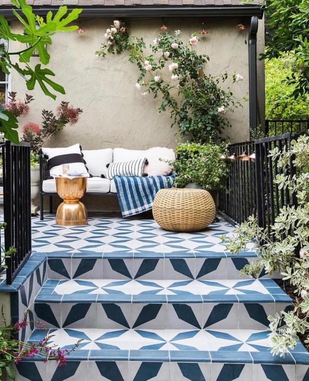Да будет цвет: 10 идей декорирования террасы