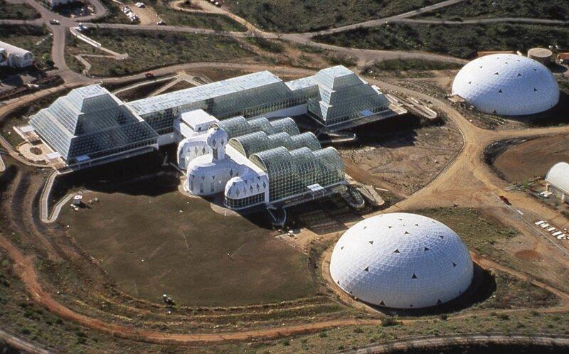 Почему провалился американский эксперимент «Биосфера-2», который мог изменить мир интересное,интересные люди,интересные факты,история,мир,наука,увлечения,факты