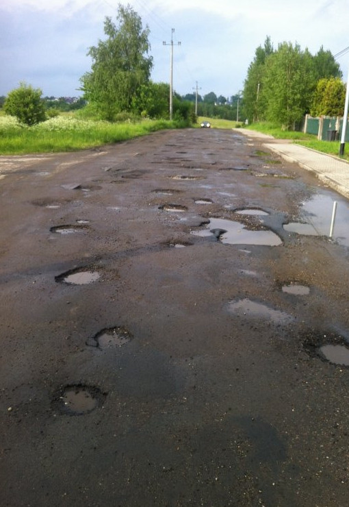 фото приколы плохих дорог