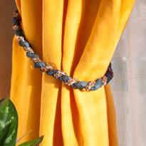 Технология плетения витого шнура. Подхват для шторы. Шаг 12