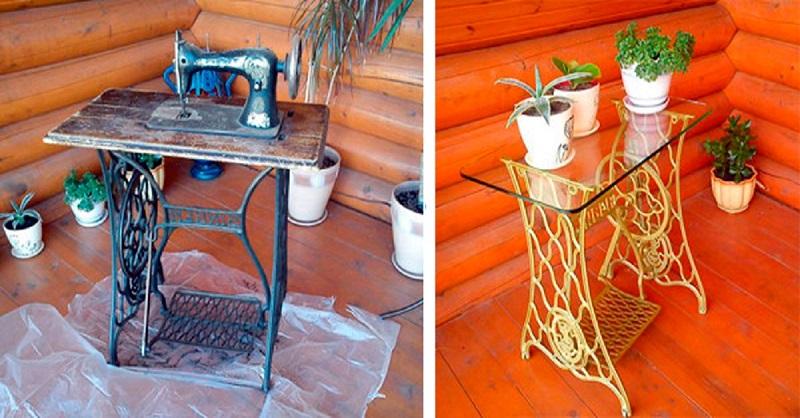 Шикарные идеи переделки старой мебели