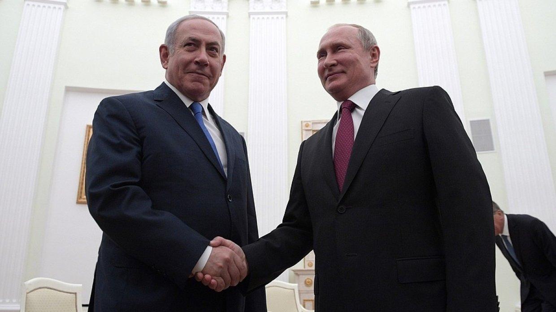 Путин провел переговоры с израильским премьером