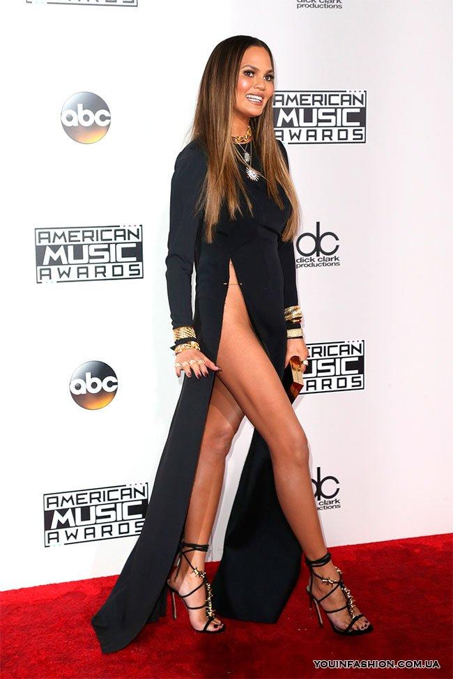Крисси Тейген на премии American Music Awards, 2016 г.