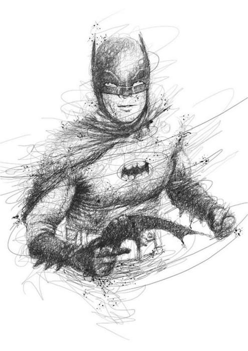 Тёмный рыцарь: Бэтмен. Автор: Vince Low.