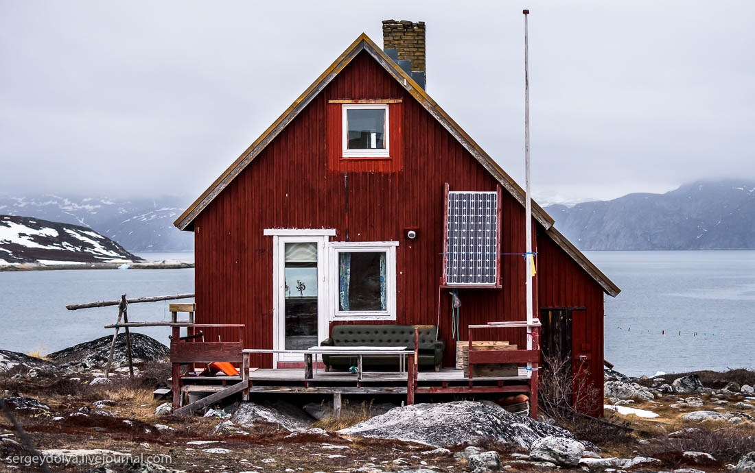 дома в гренландии фото это