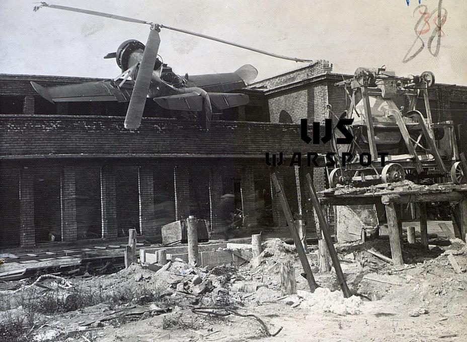Аварийная посадка автожира №4, 26 июня 1942 года - Летающие глаза артиллерии | Warspot.ru