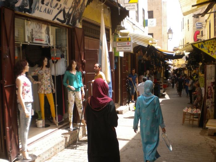 Марокко - марокканская одежда, кожа и её производство