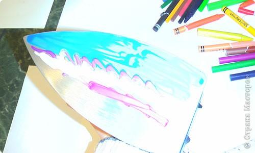 Картина, панно, рисунок, Мастер-класс Энкаустика: как я рисую утюгом Воск. Фото 3