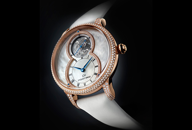 Часы Grande Seconde Tourbillon Mother-of-Pearl, Jaquet Droz