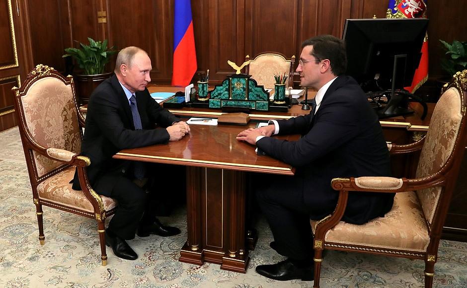 Глеб Никитин назначен временно исполняющим обязанности Губернатора Нижегородской области