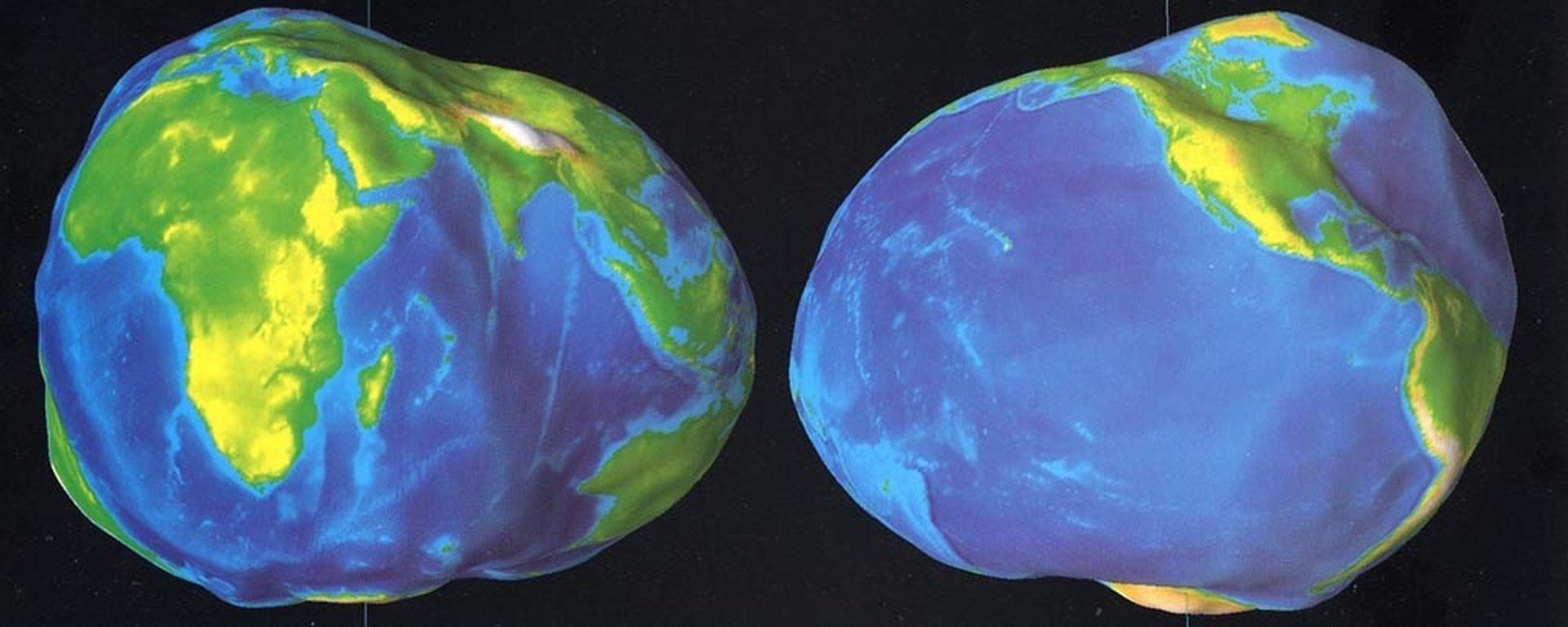 Какая в действительности форма у Земли и почему