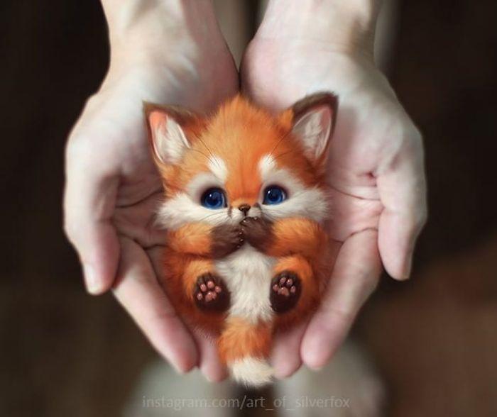 Художник нарисовал самых милых животных, живущих на этой планете
