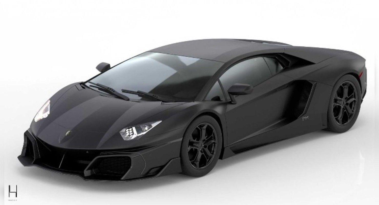 Тюнеры из Дубая отметили 10-летие Lamborghini Aventador выпуском нового зловещего суперкара Автомобили