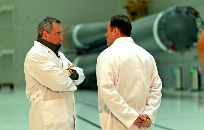 Рогозин отреагировал на «исключение России из лунной программы»