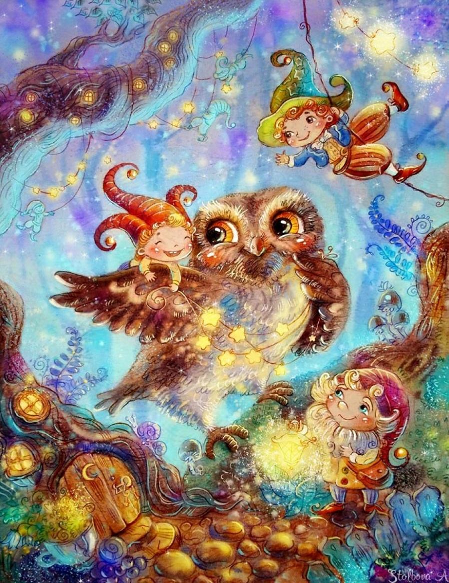открытка сказочных чудес этой