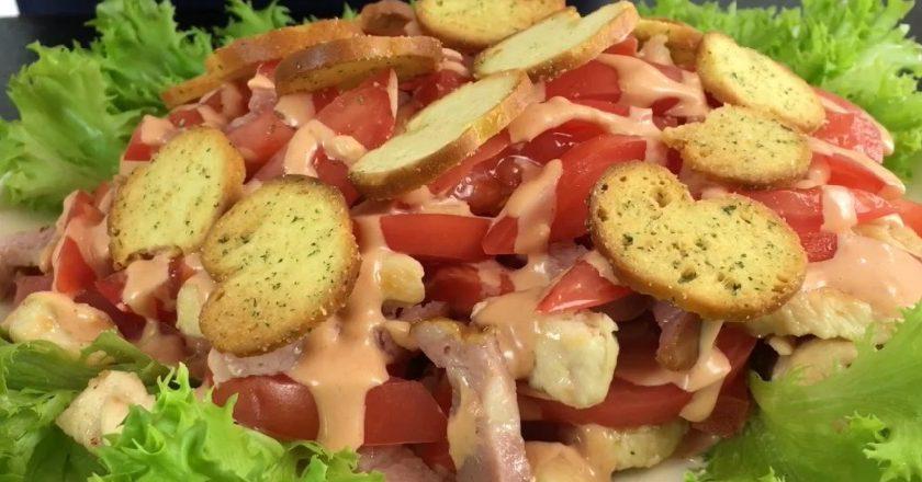 Мега аппетитный салат