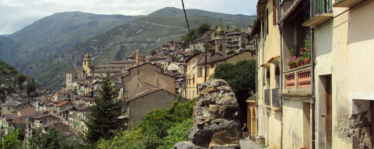 Самая красивая деревня Лазурного Берега