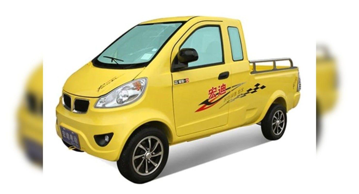 В Китае выпустили развозной пикап, по документам значащийся, как электровелосипед Автомобили
