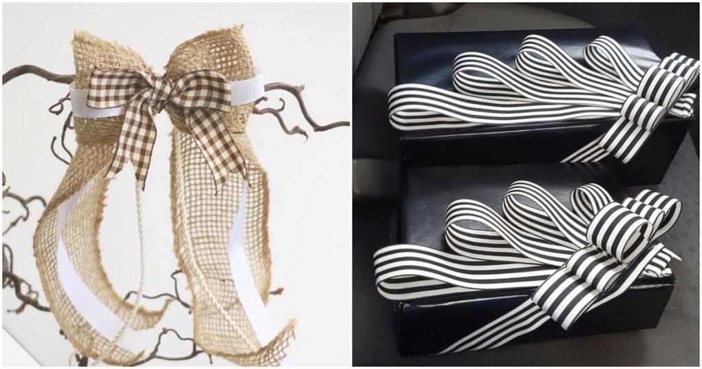 Бантиков много не бывает: оригинальная упаковка подарков своими руками