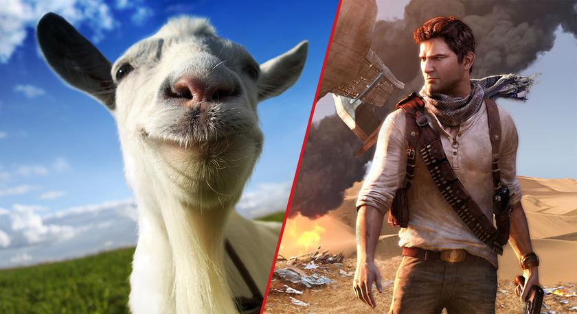 Бесплатные игры по PS Plus в январе: забирай Uncharted The Nathan Drake Collection и Goat Simulator