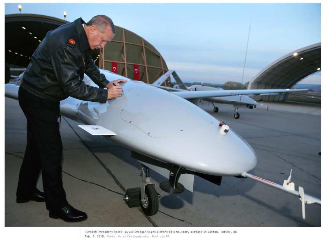 Как Турция бросила вызов США и стала державой дронов-убийц