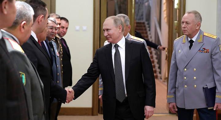 Владимир Путин встретился с министрами обороны зарубежных стран