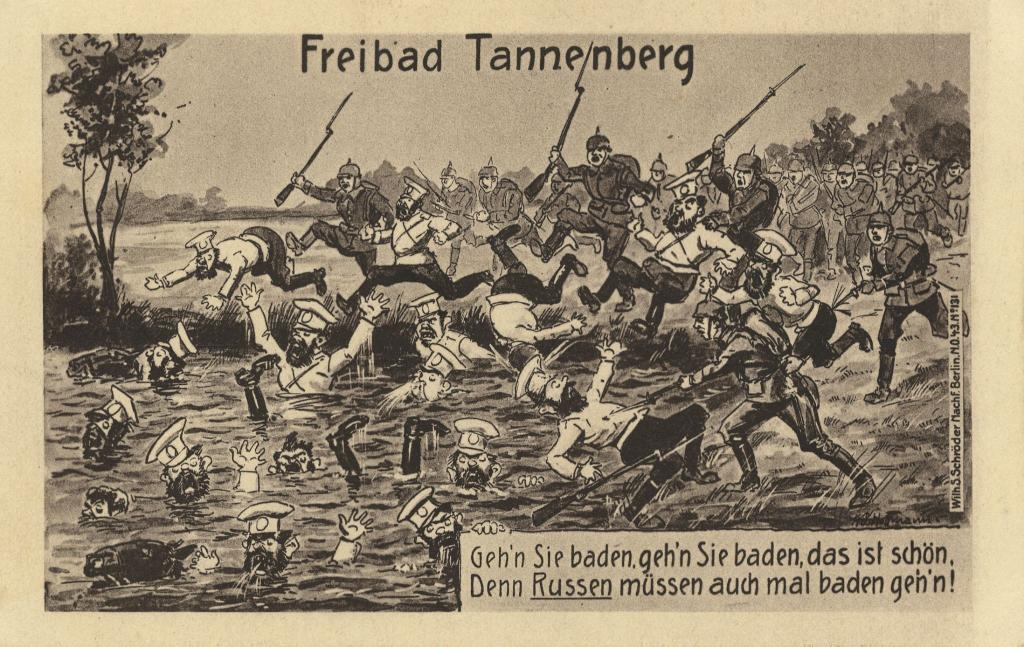 «Вместо культуры — вши». Антироссийские открытки времен Первой мировой