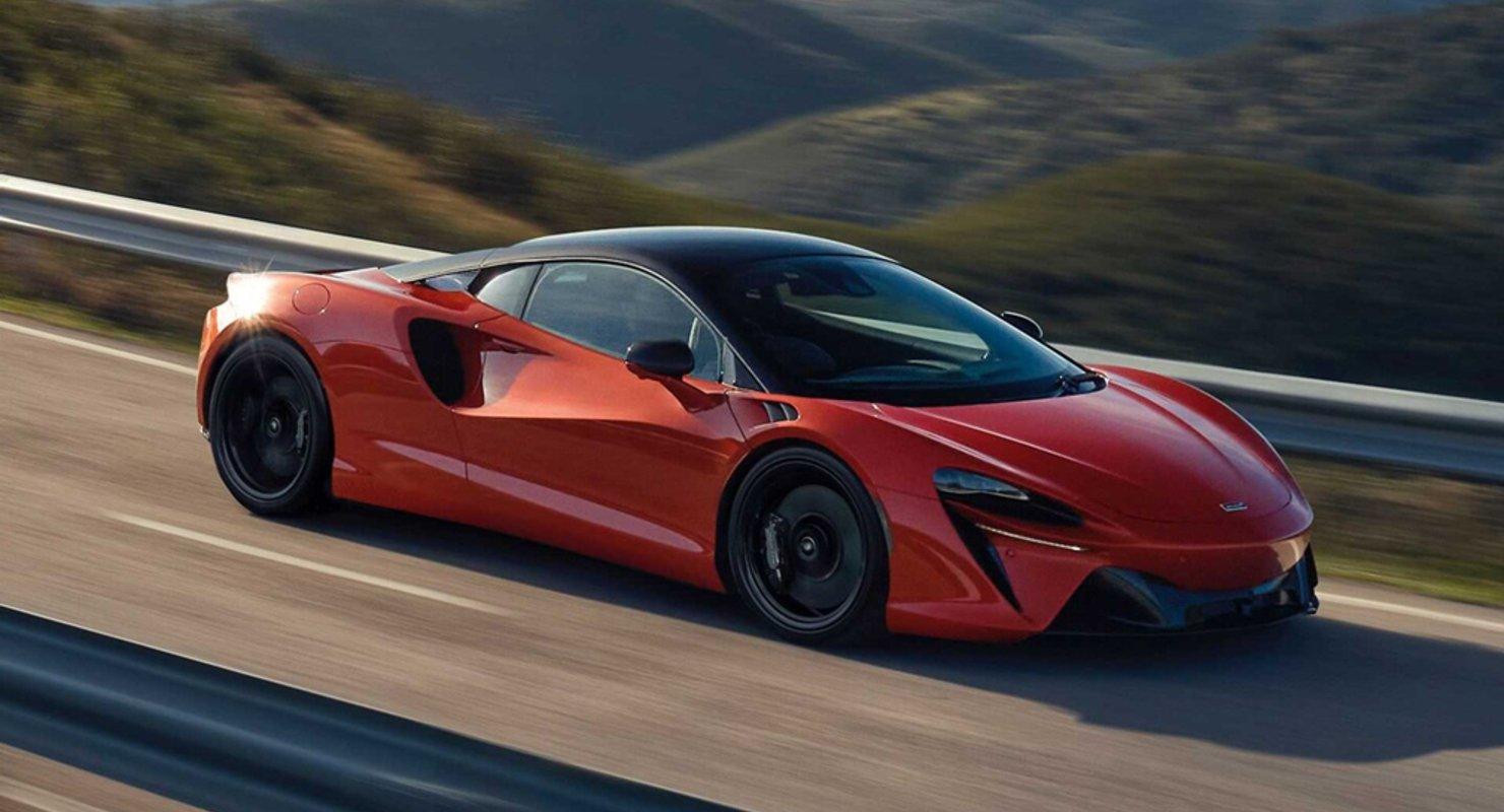 Представители McLaren рассказали о гибриде Artura Автомобили