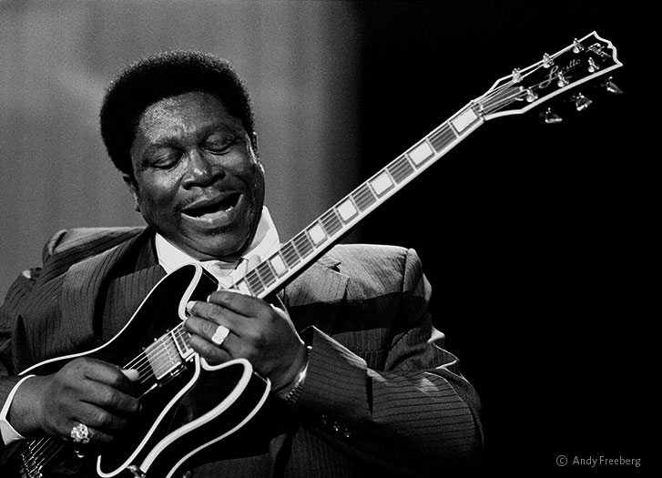 B.B King. The Thrill Is Gone